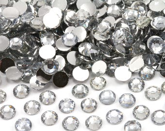 Crystal Resin Rhinestones for Embellishments and Nail Art 3-6mm