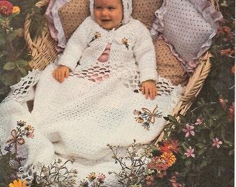 Baby Crochet Pattern, Baby Blanket Crochet Pattern with Sweater & Hat Crochet Pattern, Baby Shower Gift, INSTANT Download Pattern PDF (1305)