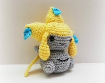 Crochet Jirachi Inspired Chibi Pokemon