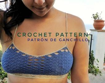 Shirley Temple Bralette Crochet Pattern