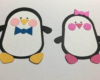 Penguin Pair - 2 die cuts