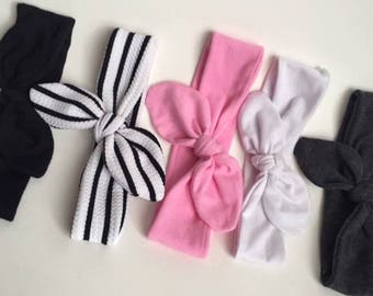 Top knot headbands