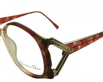 Christian Dior Classic Womens Vintage oversized 80s eyewear 2575