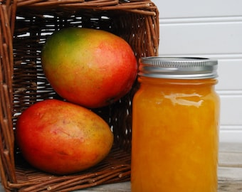 Mango Jam Farmers Market Island Tropical Breakfast Condiment Brunch