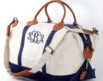 Monogram Weekender Bag, overnight Bag, Monogrammed Duffel Bags, monogrammed gifts, gifts for women