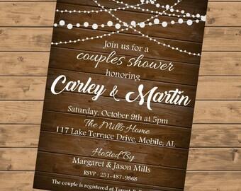 Couples Shower Invitation DIGITAL