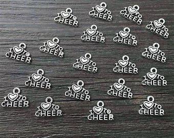set of 10 charms