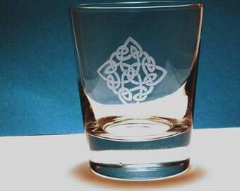 À l'ancienne 2 verres - diamant celtique