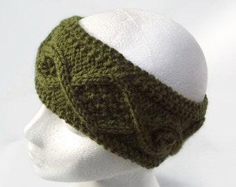 knitting pattern headband pdf earwarmer pattern