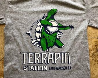 Grateful Dead Shirt-Terrapin Station Beer-Adult Uni T Shirt Sizes S M L XL XXL