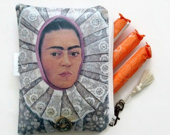 Vintage wallets for women,Frida Kahlo Tampon case/Discreet Pouch