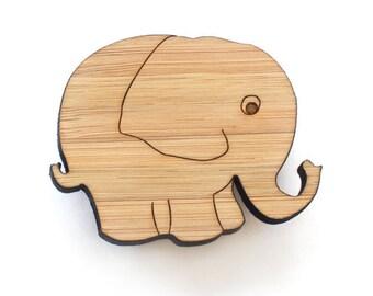 Brooch - Elephant brooch - elephant jewelry