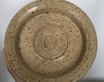 Ready to ship-Ceramic Garlic Grater Plate