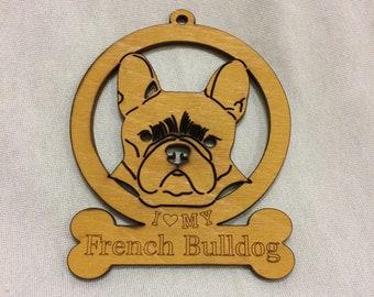 French Bulldog Dog Ornament