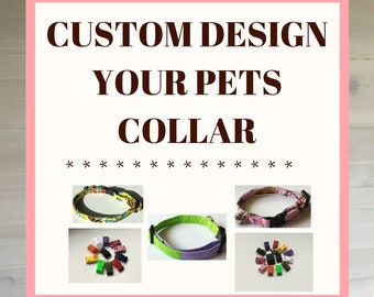 Design Your Own Dog or Cat Collar