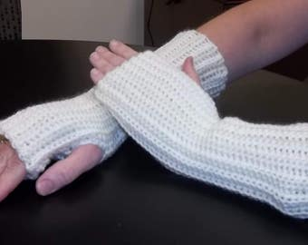 Fingerless gloves, arm warmers, hand warmers, wrist warmers, texting gloves, crochet gloves, winter gloves,