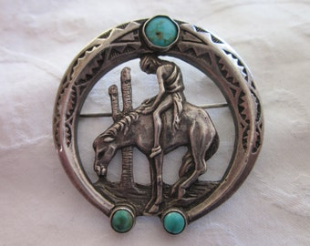 Wonderful Old Native American Pin
