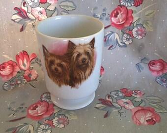 Vintage Yorkshire Terrior Porcelain Mug