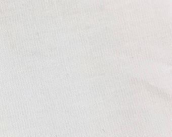 White Rayon Modal Spandex 60'' Wide Per Yard