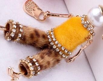 Fashion Doll Pendant necklace,Vintage charms,women.