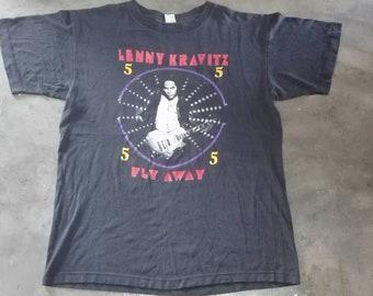 Vintage 90s Lenny Kravitz tour concert shirt XL