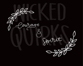 Courage and Spirit Print
