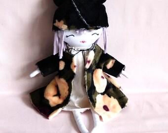 Handmade Ragdoll - Original Soft Doll - Gift for Her - Gift for Baby - Nursery Décor Girls - Softie Ragdoll - Girls Gift -