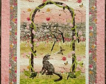Catnip Meadow quilt pattern