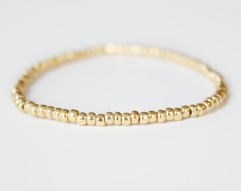 Gold Beaded Bracelet - Neeva