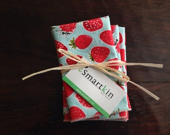 Smartkin Strawberry Napkin