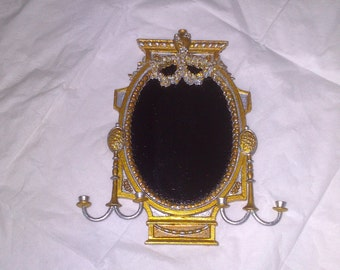 12th Scale Dolls House Girandole Mirror