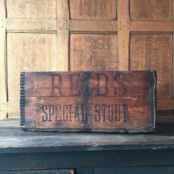 Antique Beer Crate, Pre-Prohibition, Beer Advertising, European Beer Crate, Breweriana, Watneys Combe Reids London