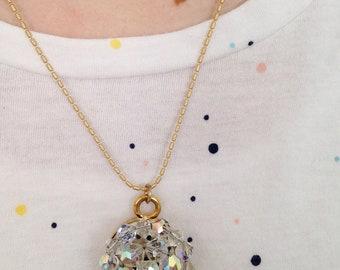 Sparkle heirloom pendant necklace