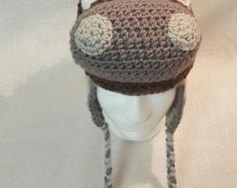 Horse Hat, crochet animal hat, winter hat