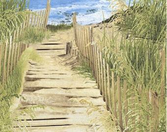 Timeless Treasures - beach-c5351 - CT 119536
