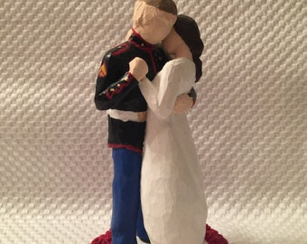 Marine Corps Cake Topper