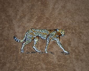 Bath towel Leopard wild animal Collection