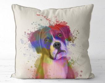 boxer dog pillow boxer dog cushion boys room decor Boxer dog gifts boy nursery decor dog nursery decor kids room pillow baby nursery kids