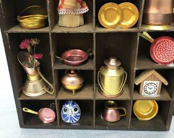 Miniature Vintage Curio Kitchen figurines