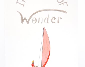 In Search Of Wonder  - A6 Card