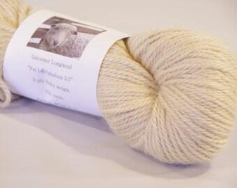 Fat & Fabulous 2.0 100% Leicester Longwool Yarn from a PA Century Farm