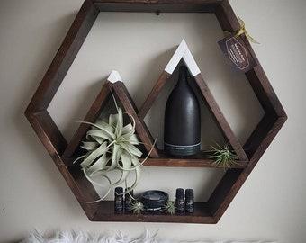 Honeycomb/Hexagon Mountain Shelf