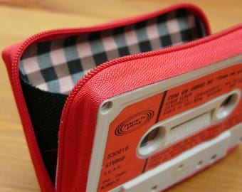 Wallets made with cassette tape