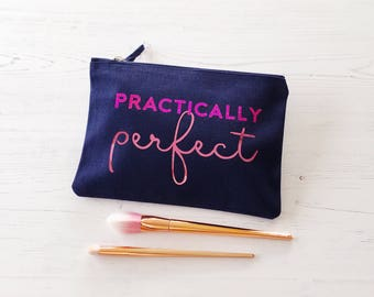 Practically Perfect Bag, Mother's Day Gift, gifts for women, wash bag, gift for Mum, toiletry bag, make up bag, gift for her, Mary Poppins