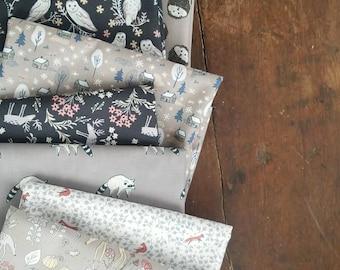 For Fox Sake - Fat eighth/Fat quarter/Half yard bundle - Dear Stella Designs
