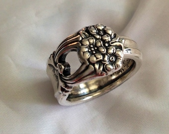 Spoon Ring Eternally Yours Silverware Jewelry Size 7 to 12 Choose Your Size