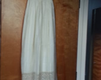 Vintage Christening Gown and Bonnet