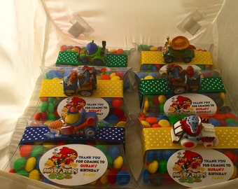 6  Angry Birds Favors