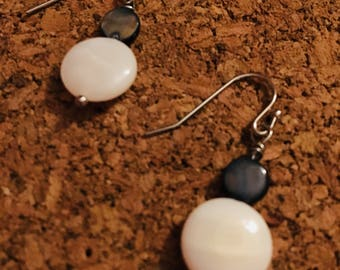 Pearly Whites: Freshwater Pearl Dangle Earrings