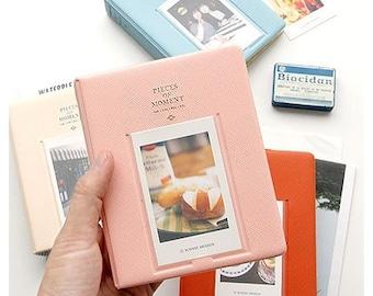 Photo Album for Fujifilm Instax Mini and Polaroid PIC300 size.